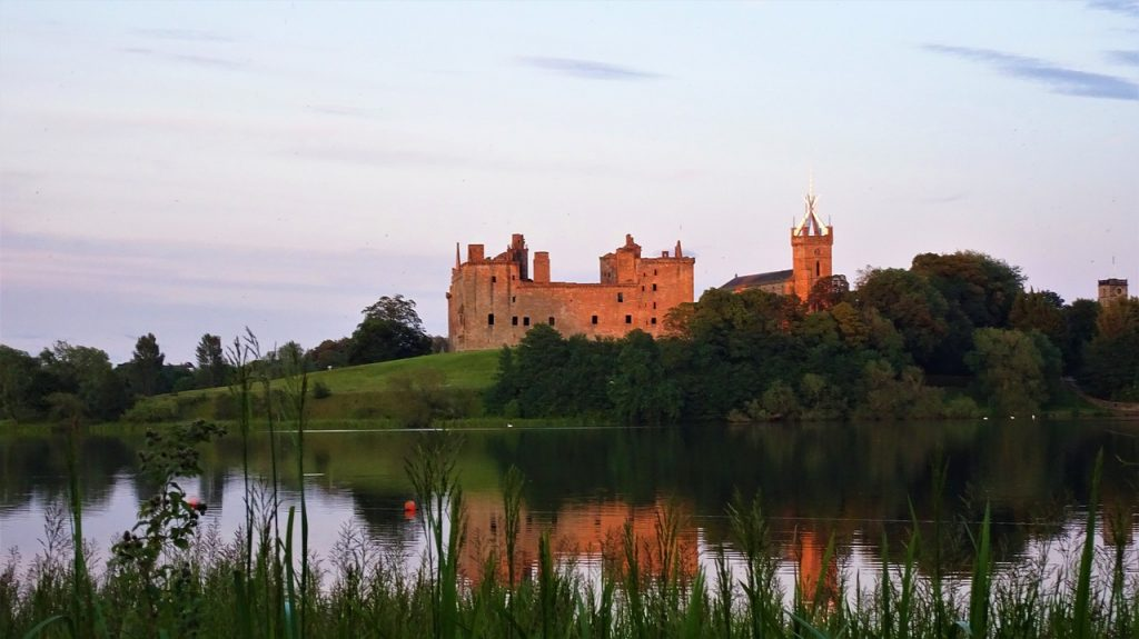 Linlithgow Palace at Sunset